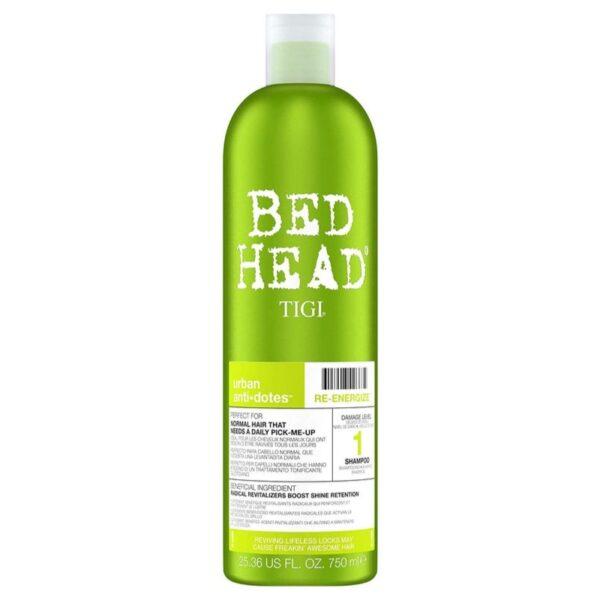 Tigi Bed Head Champú Urban Anti+Dotes Level 1 Re-Energize 750ml
