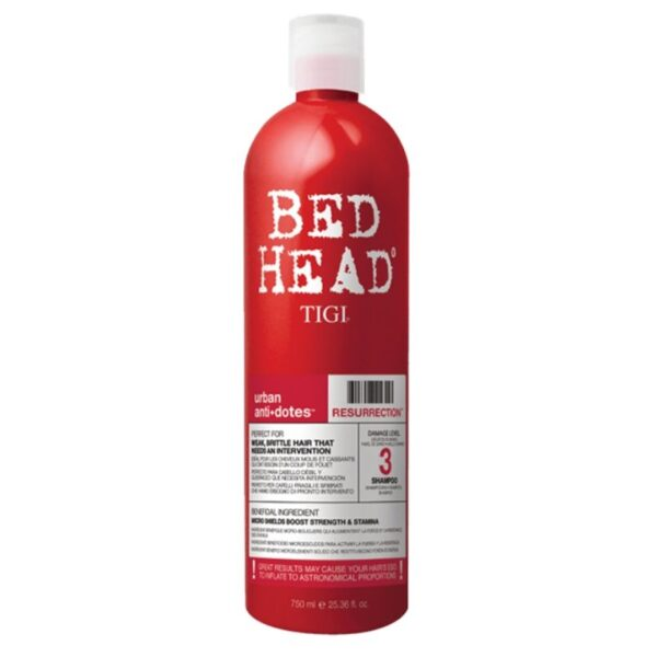 Tigi Bed Head Champú Urban Anti+Dotes Level 3 Resurrection 750ml