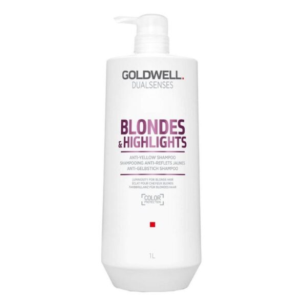 Goldwell Dualsenses Champú Blondes & Highlights 1000ml