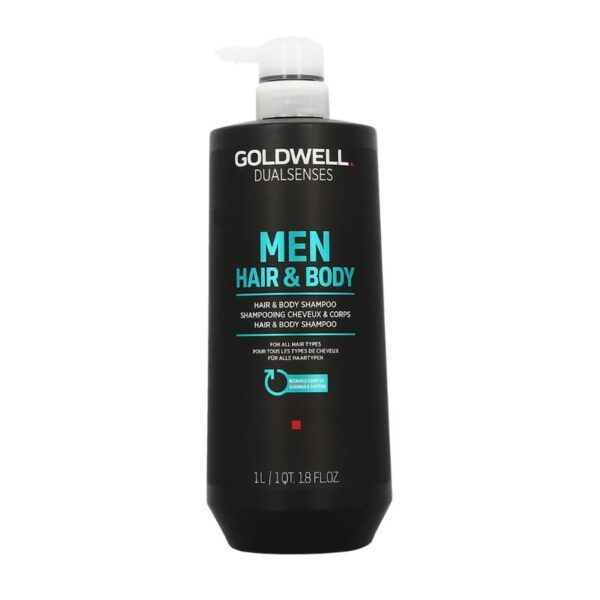 Goldwell Dualsenses Champú Men Hair & Body 1000ml