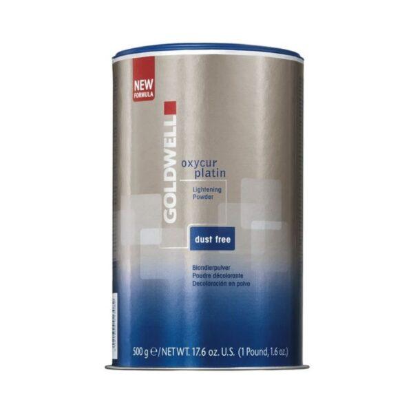 Goldwell Polvo Aclarante Oxycur Platin Dust-Free Bleach 500ml
