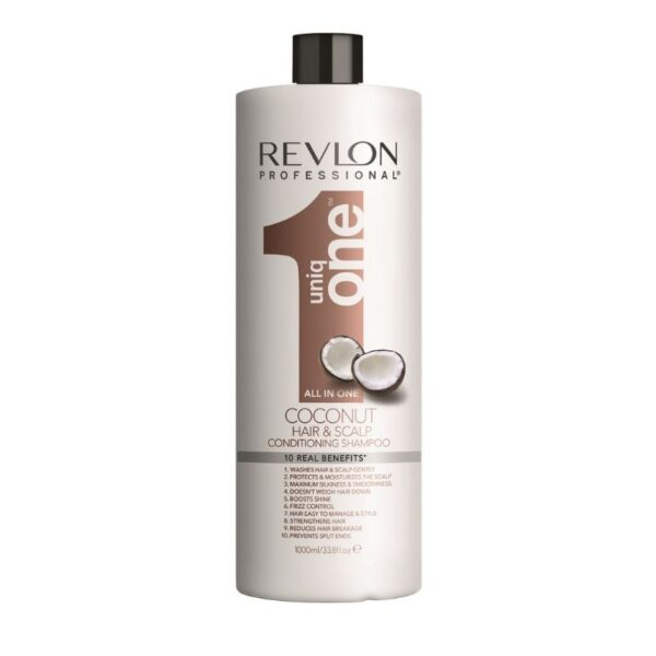 Revlon Uniq One Coconut Champu y Acondicionador 1000ml