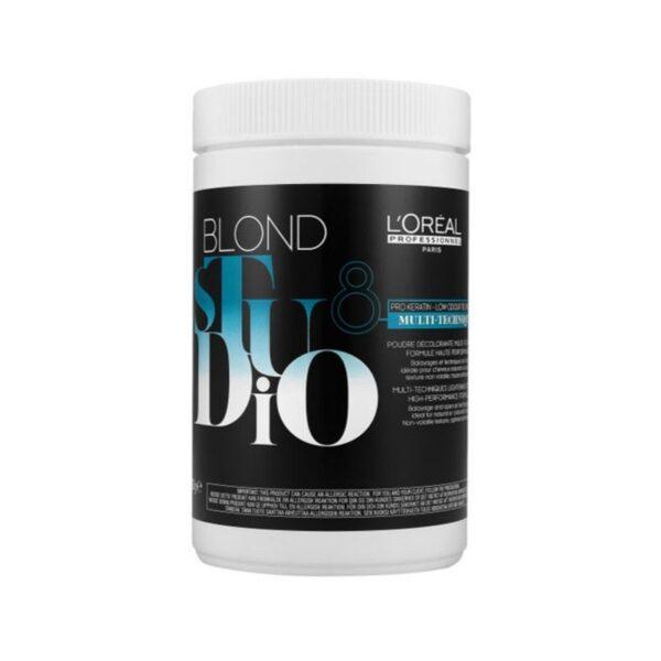 L'oreal Blond Studio Polvo Decolorante Multi Techniques Decoloración 500gr