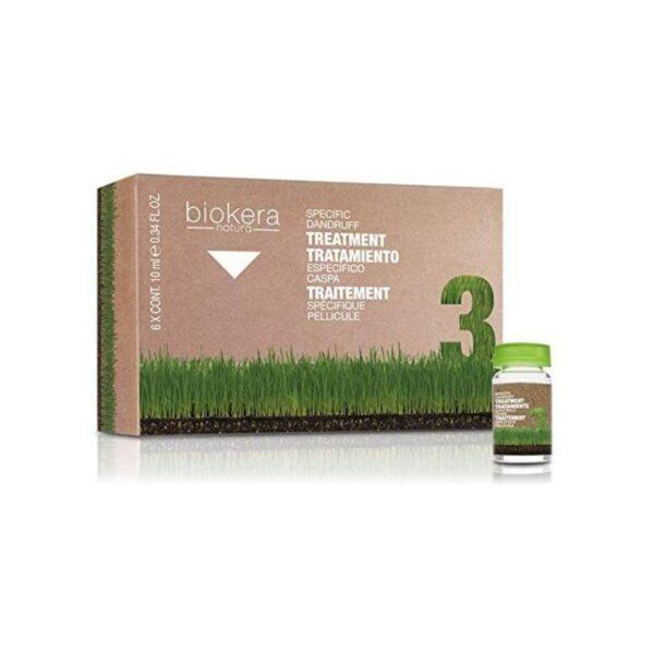 Salerm Biokera Natura Tratamiento Específico Para Caspa Ampollas 6 X 10ml