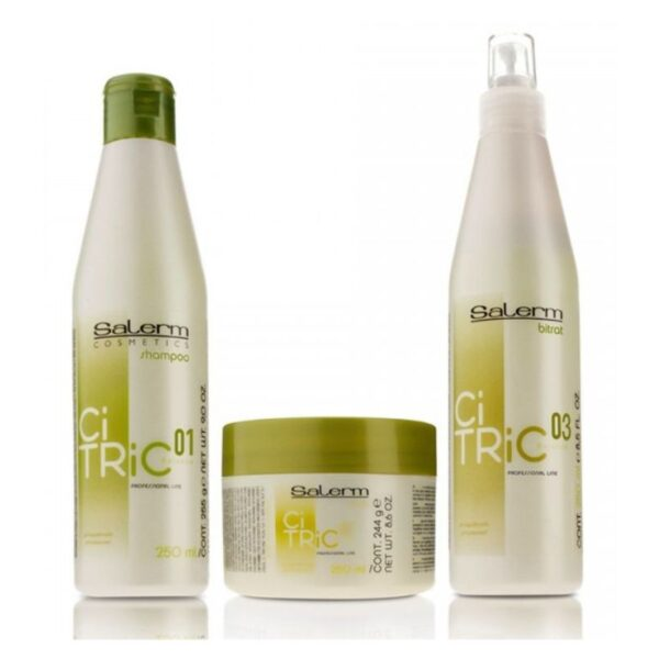 Salerm Citric Balance Champú 250ml + Mascarilla 200ml + Loción Bitrat 250ml