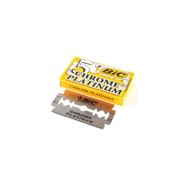 Bic Chrome Platinum Hoja De Afeitar 20 Cajas X 5 Unidades