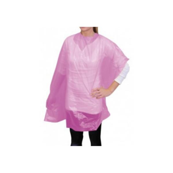 Capa Para Tinte En Bolsa 30 unidades Color Rosa