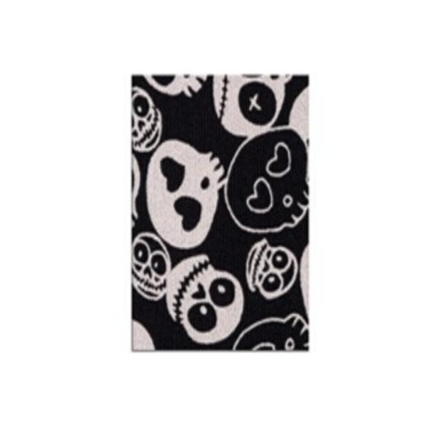 Cinta Kinesiología Bb-Tape 5cm X 5m Venda Neuromuscular (Calaveras Negra)