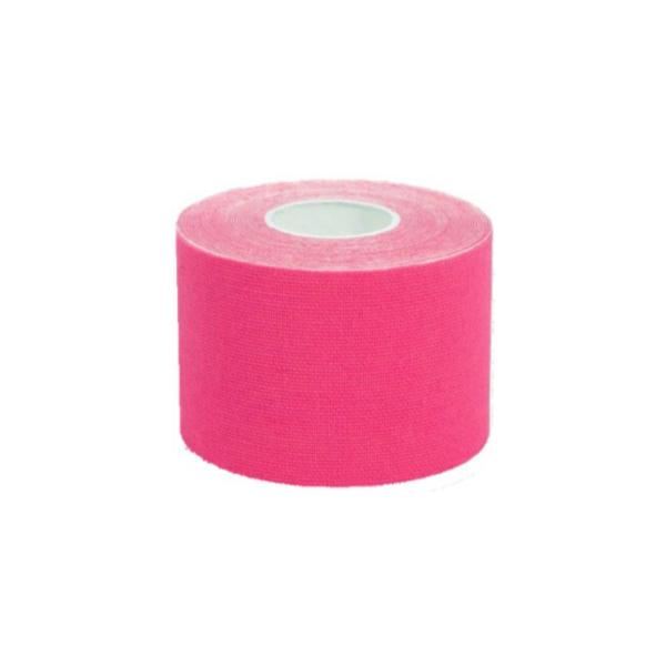 Cinta Kinesiología Tape 5cm X 5m Cinta Muscular (1 Unidad, Rosa)