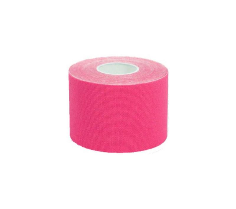 KC Cinta Kinesiología Tape 5cm X 5m Cinta Muscular 1 Unidad Rosa