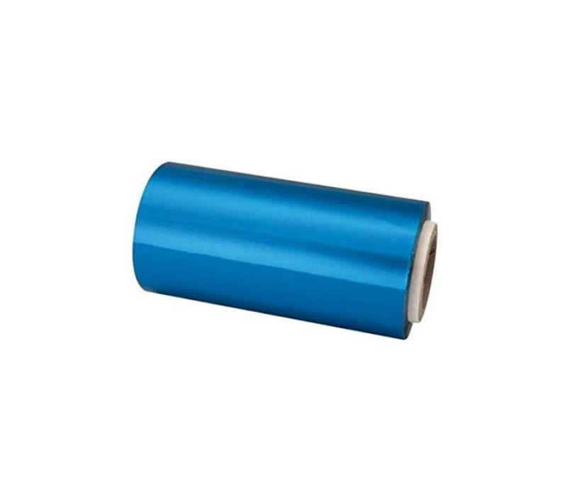 KC Rollo De Papel Aluminio Para Mechas 12cm x 70 Mts Azul