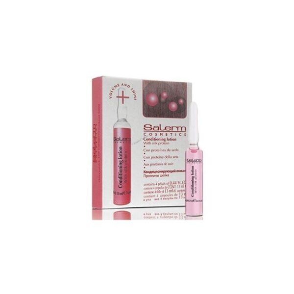 Salerm Cosmetics Conditioning Lotion 4 Ampollas X 13ml