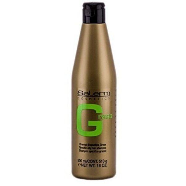 Salerm Cosmetics Greasy Hair Champú 500ml
