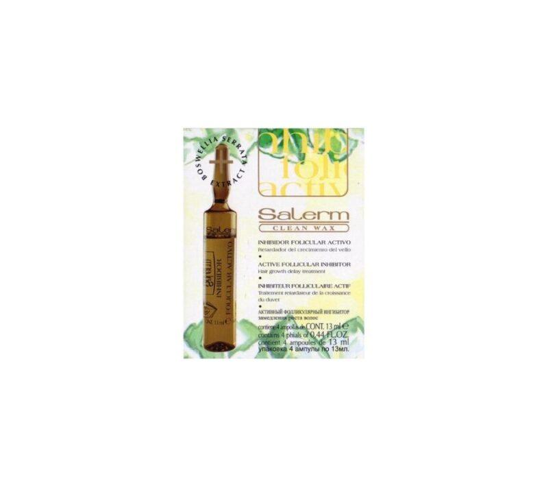 KC Salerm Cosmetics Inhibidor Folicular 4 Ampollas X 13ml