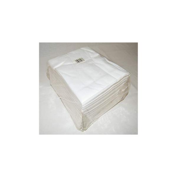 Toallas Pedicura Spun-Lace Blancas 40×50 100 Unidades