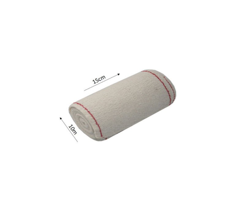KC Venda Elástica De Crepe Sin Látex 15cm X 10m 2