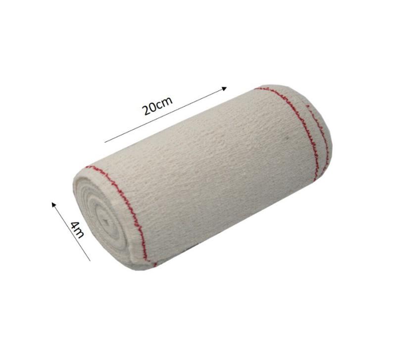 KC Venda Elástica De Crepe Sin Látex Para Soporte Fijación Y Reposo Bordes Tejidos Suacrepe 70 GrM2 20cmx4m