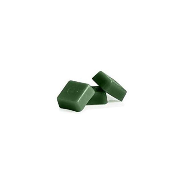 Cera Depilatoria De Baja Fusión Con Un Alto Contenido De Cera De Abejas, En Estuche De 1 Kilo, Color Verde