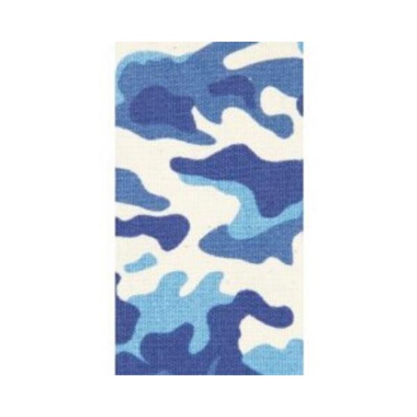 Cinta Kinesiología Bb-Tape 5cm X 5m Venda Neuromuscular (Camuflaje Azul)