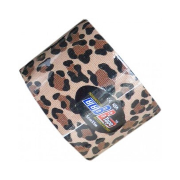 Cinta Kinesiología Bb-Tape 5cm X 5m Venda Neuromuscular (Leopardo)