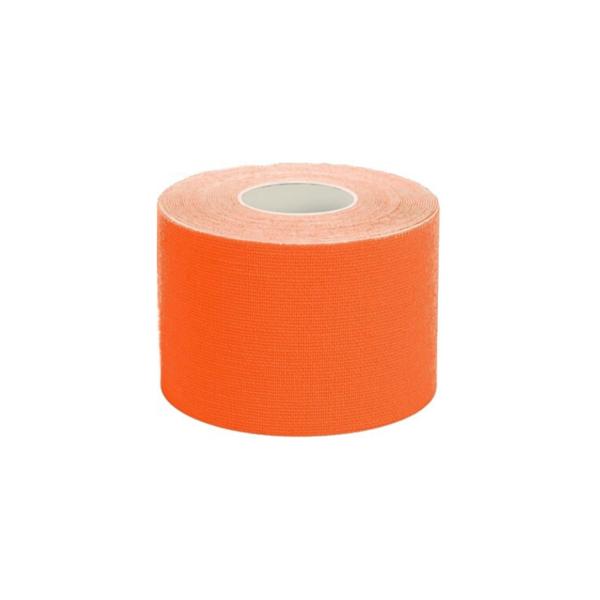 Cinta Kinesiología Tape 5cm X 5m Cinta Muscular (1 Unidad, Naranja)