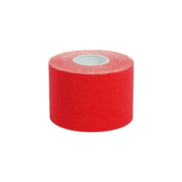 Cinta Kinesiología Tape 5cm X 5m Cinta Muscular (1 Unidad, Rojo)