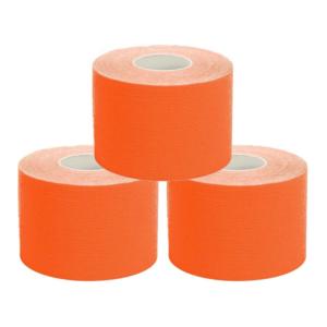 kc Cinta Kinesiología Tape 5cm X 5m Cinta Muscular Unidades Naranja