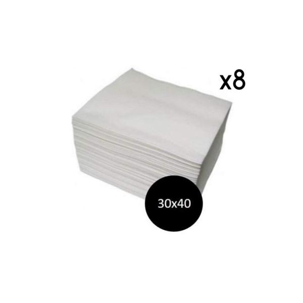 Toallas Spun-Lace Blancas 30×40 800 Unidades