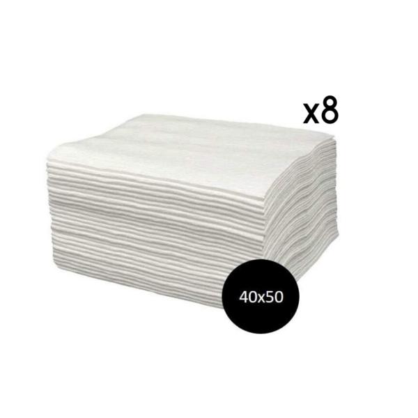 Toallas Spun-Lace Blancas 40×50 800 Unidades