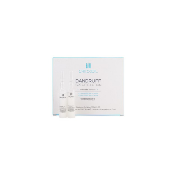 Crioxidil Dandruff Loción Capilar Caspa 6 x 10ml