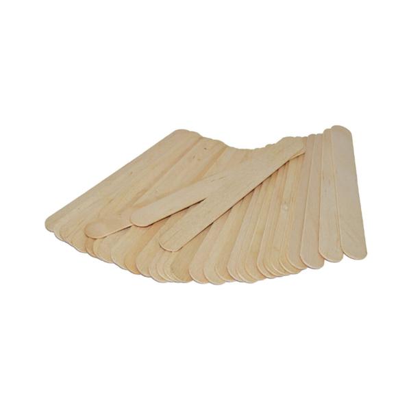 Espátula corporal de madera para cera depilatoria 100 unidades