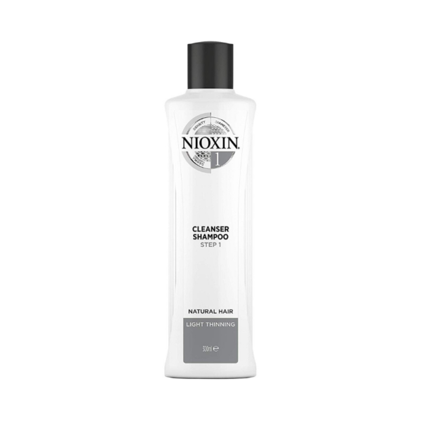 Nioxin Sistema 1 Champú Natural Hair Debilitamiento Medio 300ml