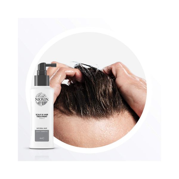 Nioxin Sistema 1 Tratamiento Natural Hair Debilitamiento Medio 100ml