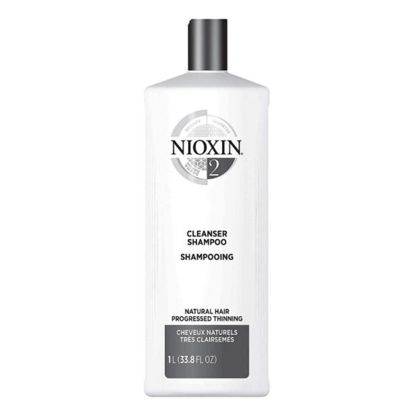 Nioxin Sistema 2 Champú Natural Hair Debilitamiento Avanzado 1000ml