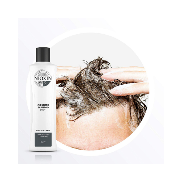 Nioxin Sistema 2 Champú Natural Hair Debilitamiento Avanzado 300ml