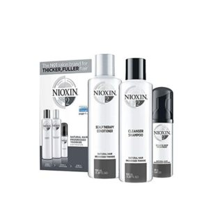 Nioxin Sistema 2 Kit Natural Hair Debilitamiento Avanzado Champú 150ml + Acondicionador 150ml + Tratamiento 40ml