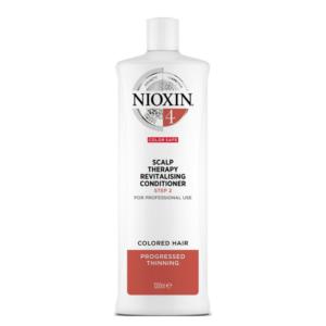 Nioxin Sistema 4 Acondicionador Color Save Debilitamiento Avanzado 1000ml