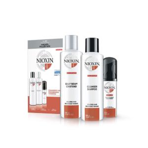 Nioxin Sistema 4 Kit Tratamiento Color Save Debilitamiento Avanzado Champú 150ml + Acondicionador 150ml + Tratamiento 40ml
