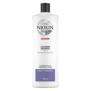 Nioxin System 5 Champú Chemically Treated Hair Debilitamiento Medio 1000ml