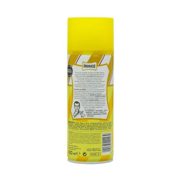 Proraso Shell Foam Nutritiva Y Regenadora 400ml