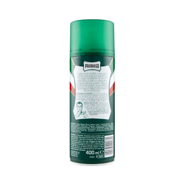 Proraso Shell Foam Refrescante 400ml