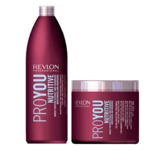 Revlon Pro You Nutritive Champú 1000ml + Mascarilla 500ml