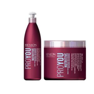 Revlon Pro You Nutritive Champú 350ml + Mascarilla 500ml