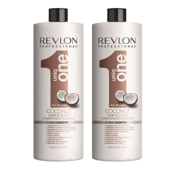 Revlon Uniq One Coconut Champu y Acondicionador 2 x 1000ml