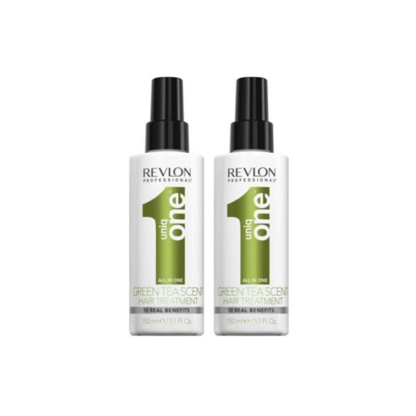 Revlon Uniq One Tratamiento Te Verde 2 x 150ml