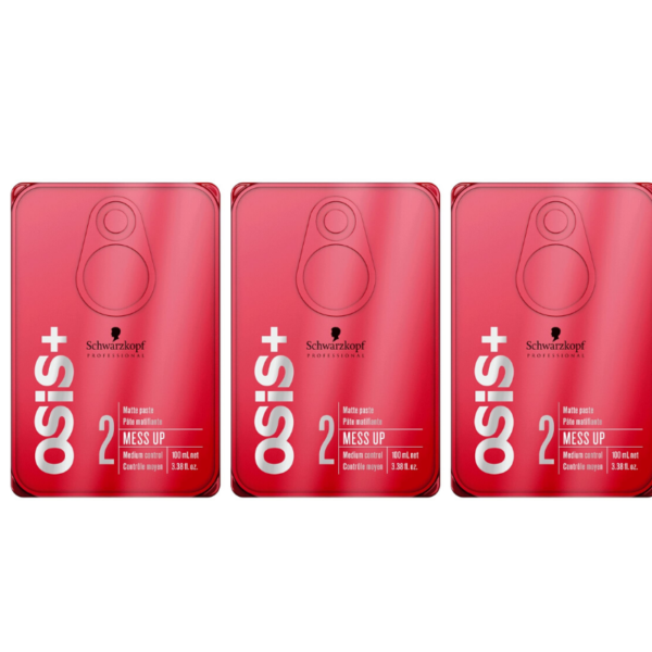 Schwarzkopf Professional Osis+ Goma Creativa Textures Mess Up 3 x 100ml