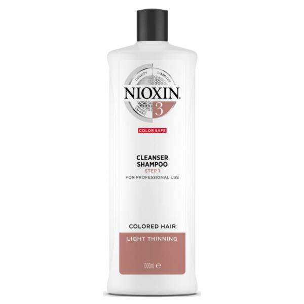 Nioxin Sistema 3 Champú Color Save Debilitamiento Medio 1000ml