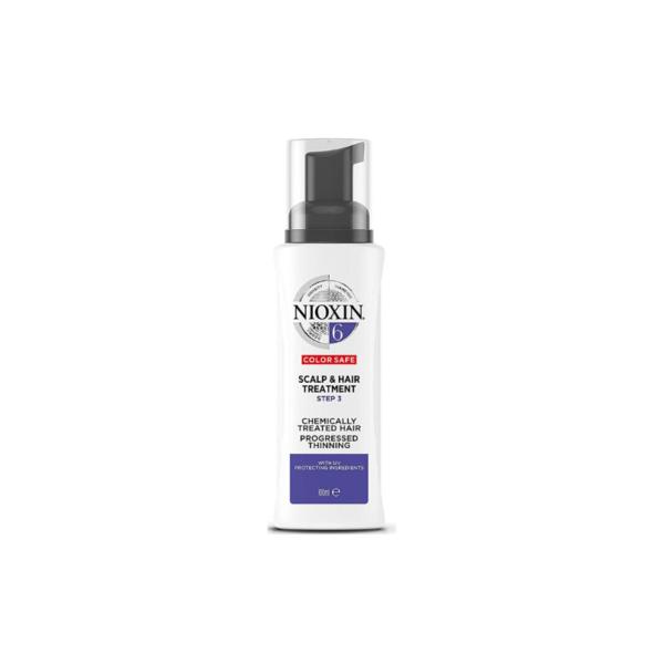 Nioxin System 6 Tratamiento Chemically Treated Hair Debilitamiento Avanzado 100ml
