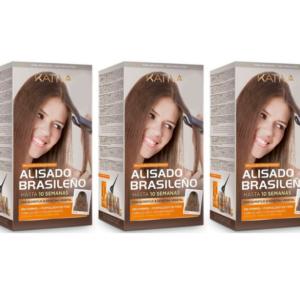 Kativa Alisado Brasileño Tratamiento 3 X 225ml