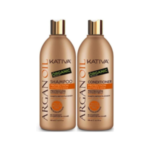 Kativa Argan Oil Champú 500ml + Acondicionador 500ml